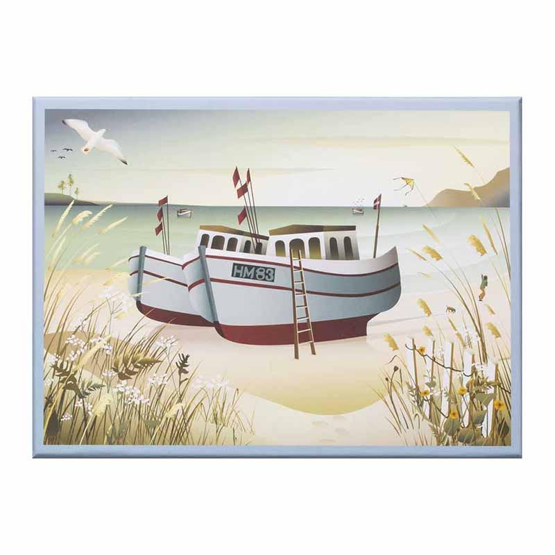 Vissevasse Puslespil 1000 brk, Fishing Boats Vissevasse puzzle Fiskebåde 1000 brikker