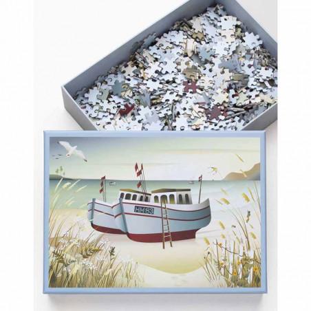 Vissevasse Puslespil 1000 brk, Fishing Boats Vissevasse puzzle 1000 pc