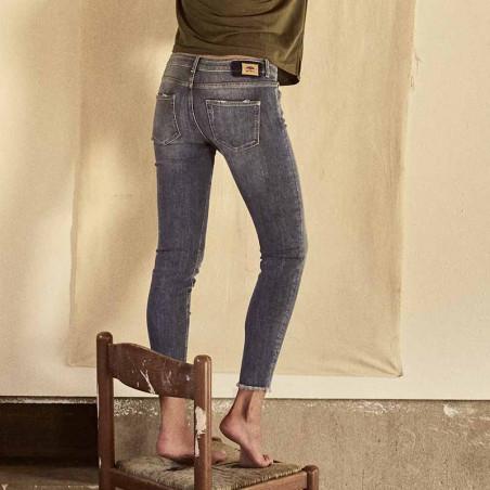Mos Mosh Jeans, Sumner Premium Jeans, Blue Mosmosh bukser look
