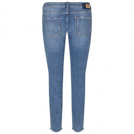Mos Mosh Jeans, Sumner Premium Jeans, Blue Mosmosh bukser bag