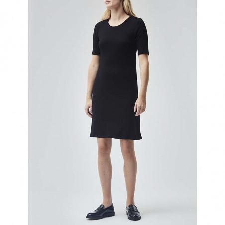 Modström Kjole, Chica, Black, sommerkjole, sort kjole - Model