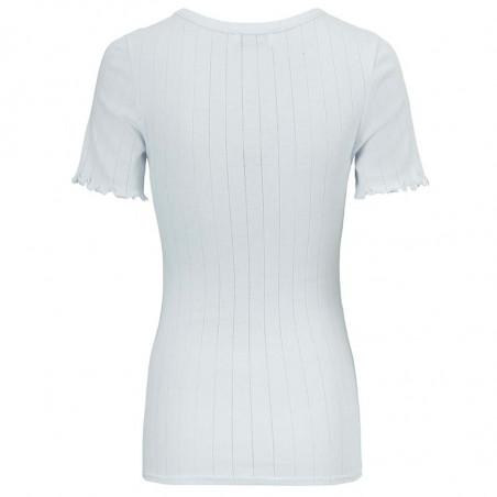 Modström T-shirt, Issy, Plain Air, Basic T-shirt, T-shirt i bomuld, T-shirt med korte ærmer