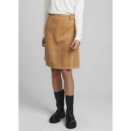 Nümph Nederdel, Numeghan Calah, Tannin Numph nederdel i fløjl på model