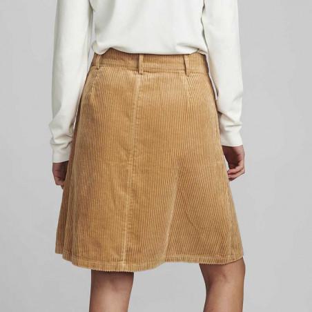 Nümph Nederdel, Numeghan Calah, Tannin Numph nederdel i fløjl på model set bagfra.