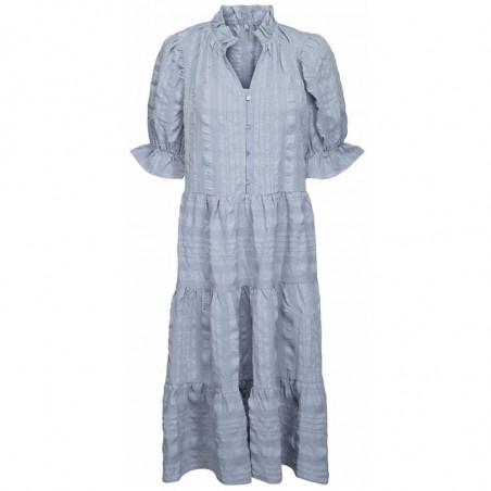 Minus Kjole, Bergitta, Dark Powder Blue  Minus fashion - Minus tøj til kvinder