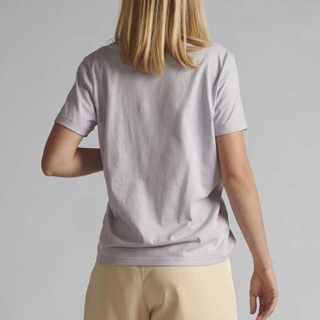 Nümph T-shirt, Nucizzy, Orchid Petal, Numph tøj, Nümph toppe, Økologisk bomuld. T-shirt i økologisk bomuld - Bagside