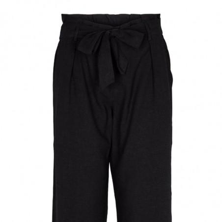 Basic Apparel Bukser, Tove Pant, Black detalje