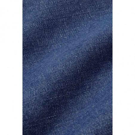 King Louie Kjole, Olive, River Blue, Lang kjole, Denim kjole - materiale