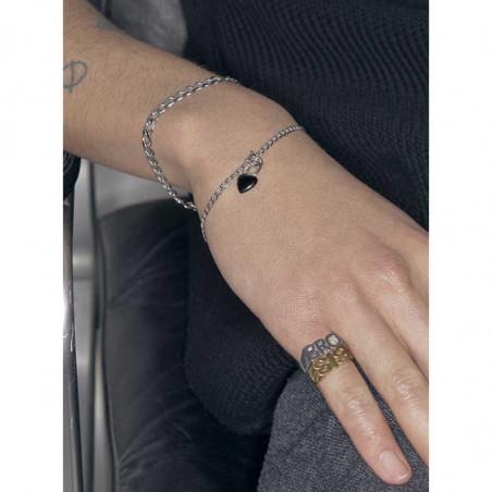 Maria Black Armbånd, Saffi Bracelet, Sølv Maria Black smykker look