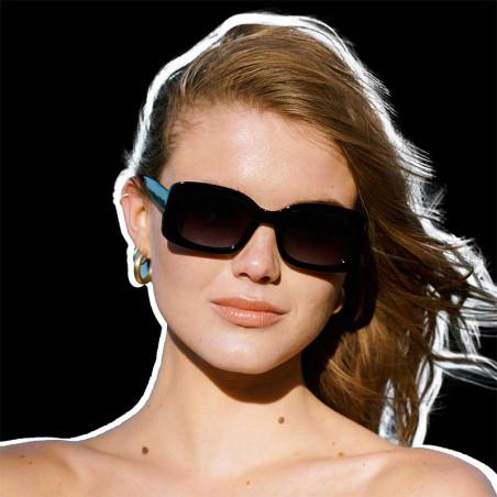 A Kjærbede Solbriller, Salo, Black på model