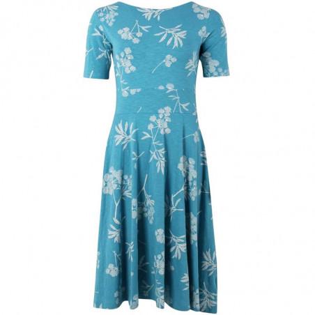 Danefæ Kjole, Charlotte, Rainblue/Charlk, sommerkjoler, kjoler i jersey, kjoler til hverdag, hverdagskjoler