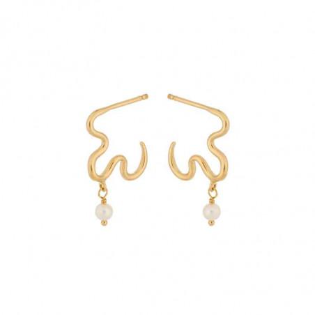 Pernille Corydon Øreringe, Ocean Dream, Gold, Pernille Corydon smykker