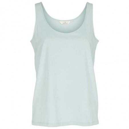 Basic Apparel Top, Rikke Tank, Celestial Blue Basis tøj til kvinder
