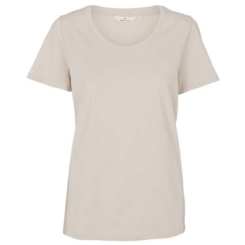 Basic Apparel T-shirt, Rebekka Tee, Sand