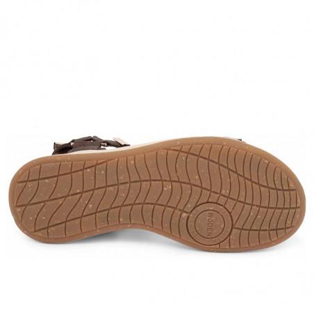 Woden Sandaler, Line, Brown, korksåler - sål