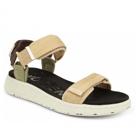 Woden Sandaler, Line, Multi, sandaler til kvinder, sandaler med velcro - Detalje