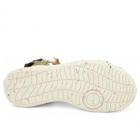 Woden Sandaler, Line, Multi, sandaler til kvinder, sandaler med velcro - sål