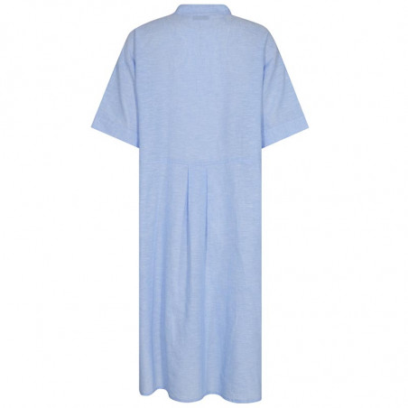 Nümph Kjole, Nuboheme, Airy Blue, sommerkjoler, hverdagskjoler, numph tøj, numph kjole nuboheme - Bagside
