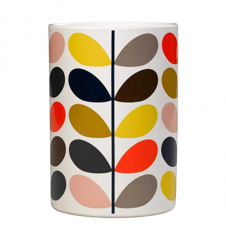 Orla Kiely Redskabskrukke, Multi Stem Ceramic utensil pot multi farvet