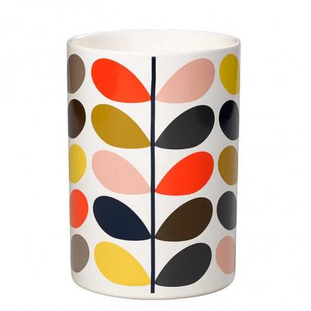 Orla Kiely Redskabskrukke, Multi Stem Ceramic utensil pot