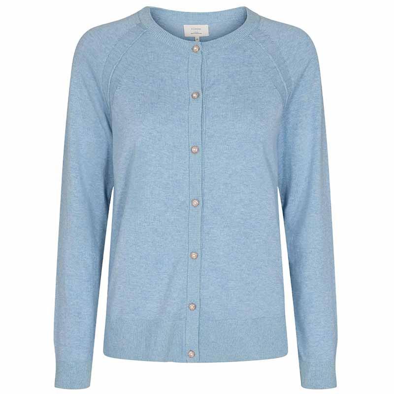 Nümph Cardigan, Nubechet, Vista Blue, nümph tøj