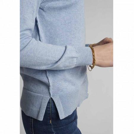 Nümph Cardigan, Nubechet, Vista Blue, nümph tøj - slids