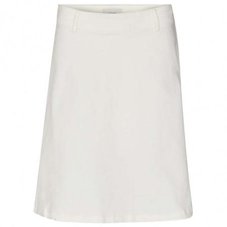 Nümph Nederdel, Nutekla, Bright White, Numph tøj