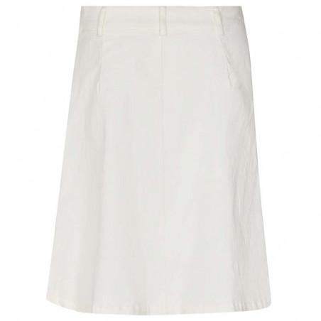 Nümph Nederdel, Nutekla, Bright White, Numph tøj - Bagside