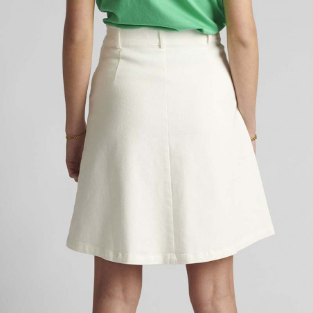 Nümph Nederdel, Nutekla, Bright White, Numph tøj - Bagfra