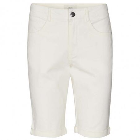 Nümph Short, Florida, Bright White, Numph tøj, shorts til kvinder