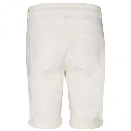 Nümph Short, Florida, Bright White, Numph tøj, shorts til kvinder - Bagside