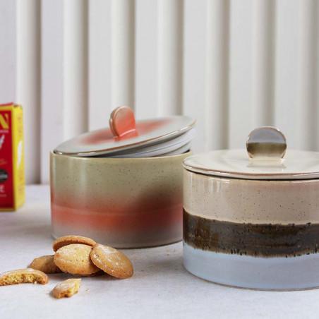 HK Living Krukke, Cookie Jar 70 Ceramic, Venus, keramik - 2 farver