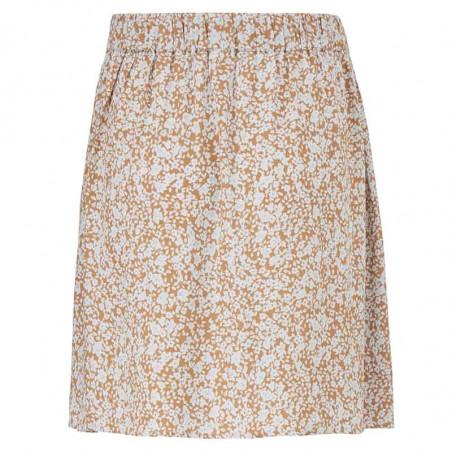 Modström Nederdel, Isa, Bluebell Kort nederdel, nederdel med print set bagfra