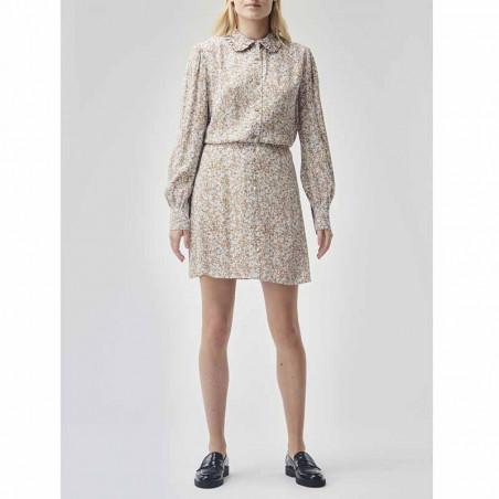 Modström Nederdel, Isa, Bluebell Kort nederdel, nederdel med print look