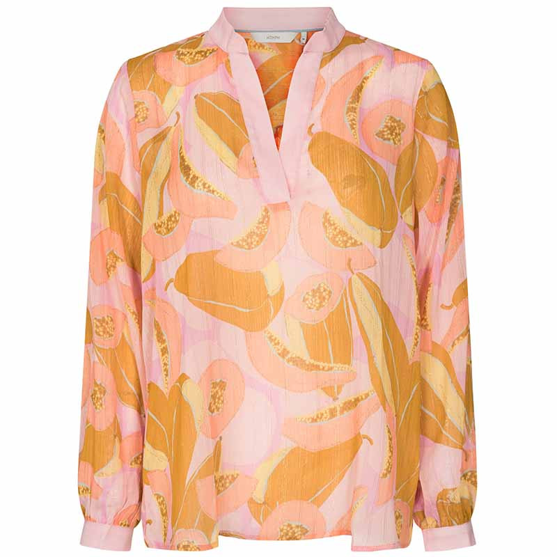 Nümph Bluse, Nucamden, Peach Skin, numph tøj