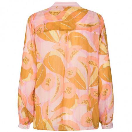 Nümph Bluse, Nucamden, Peach Skin, numph tøj - bagside