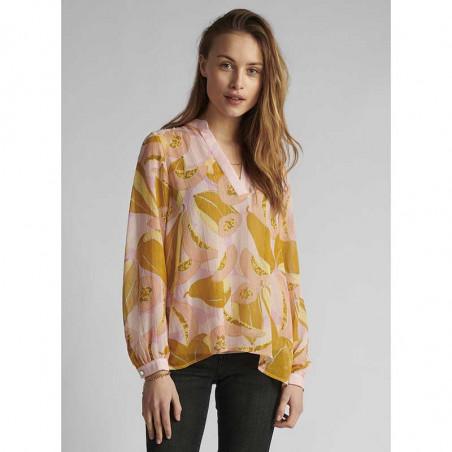 Nümph Bluse, Nucamden, Peach Skin, numph tøj - model