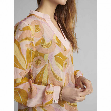 Nümph Bluse, Nucamden, Peach Skin, numph tøj - fra siden