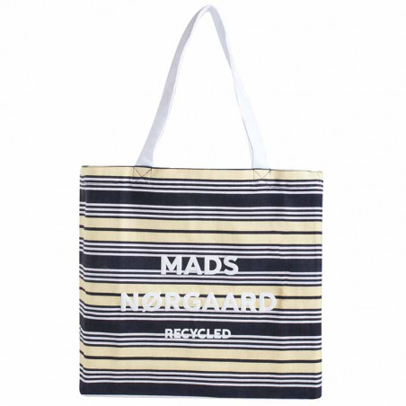 Mads Nørgaard Net, Athene Recycled, Black/Pale Banana/white