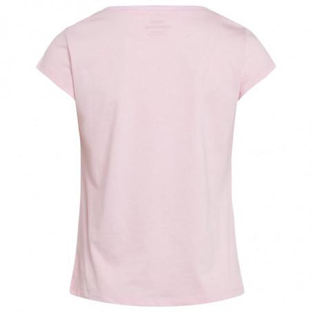 Mads Nørgaard T-Shirt, Teasy Organic Favorite, Light Pink - bagside