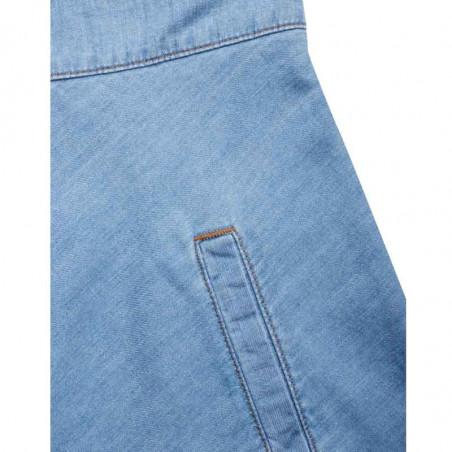 Mads Nørgaard Nederdel, Stelly C Light Indigo, Soft Blue - lomme