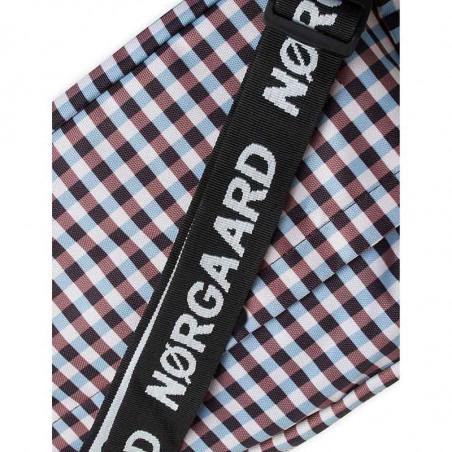 Mads Nørgaard Taske, Cappa Check, Brown Check, Mads Nørgaard taske Cappa Check Bel Couture , brown check  - logo