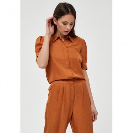 Minus Skjorte, Safika, Burned Hazel, kortærmede skjorte