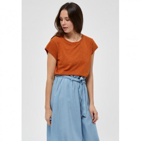 Minus T-shirt, Leti, Burned Hazel, kortærmede T-shirt - front