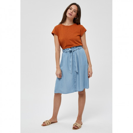 Minus T-shirt, Leti, Burned Hazel, kortærmede T-shirt - Model