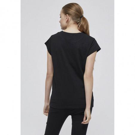Minus T-shirt, Leti, Black Sort basis t-shirt ryg