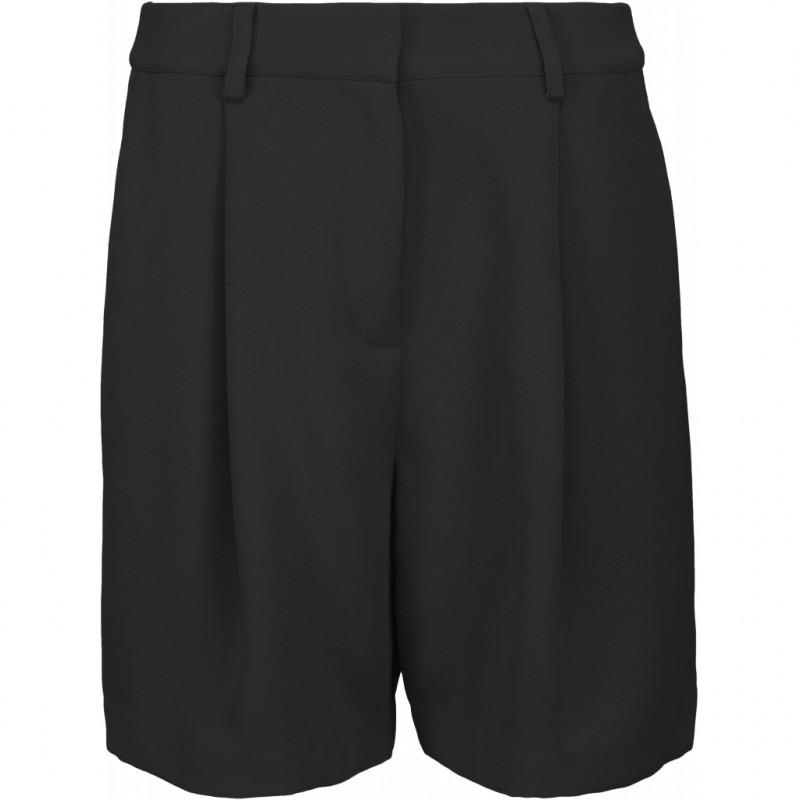 Minus Shorts, Silka, Black, forside