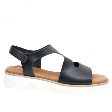LBDK Sandaler, Sandal Asymmetrisk, Vaq Black, forside
