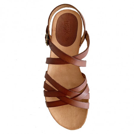 LBDK Sandaler, Skind Sandal m/remme, Cuero