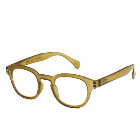 Izipizi Briller, C Reading, Bottle Green Læsebriller med styrke unisex model